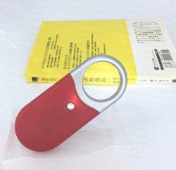Super brillante lupa de mano de la luz de linterna LED de bolsillo