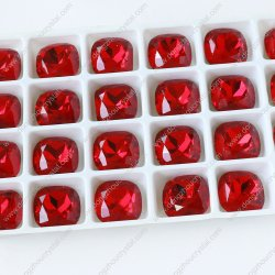 2018の新しく粋な高品質のゆとりの輝いた正方形の水晶豪華な石造りのアクセサリの宝石類