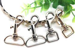 Gancho de encaixe de ligas metálicas personalizadas clipes de detonação para peças de bolsas