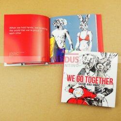 オフセット印刷の通関サービスの安いハードカバーの児童図書の印刷の写真撮影の本のCoffeetableの本