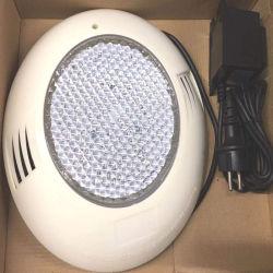 مصباح حوض السباحة الموجود على الحائط مصباح تحت الماء LED خفيف الوزن، 12 فولت 26 واط مسطح 270LED أبيض دافئ يتضمن محول <Sb8015-T>