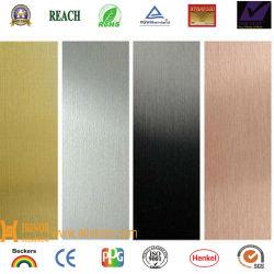 PVDF Farbe überzogenes Aluminiumc$umwickeln-leuchte Kaffee-Silber