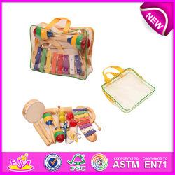 2015년 Kids를 위한 최신 New Product Wooden Music Instrument Musical Toy, Christmas Music Toy, Children W07A081를 위한 Wooden Toy Music Toy