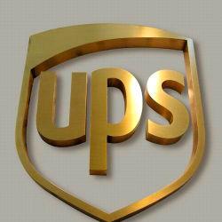 固体金属は印を広告する金文字に署名する