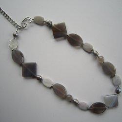 2015 Freshwater caldo Pearl e Gemstone Necklace
