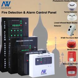 Host allarme incendio convenzionale a 8 zone