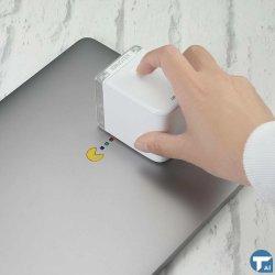 Presente de Natal Mbrush impressora portátil Mini-Impressora Impressora portátil de cartucho de tinta Base Água cartão de identificação a impressão de anúncio do logotipo de marca