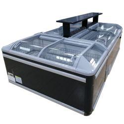 商業スーパーマーケットの箱の記憶によって結合される表示Ahtの島のフリーザー冷却装置