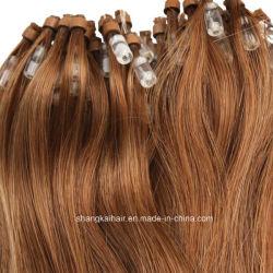 Mikroregelkreis-Ring-Haar-Extension Remy menschliches brasilianisches Haar