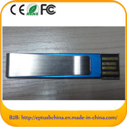 Metal populares Mini Disco Flash USB de 4GB (ET503)