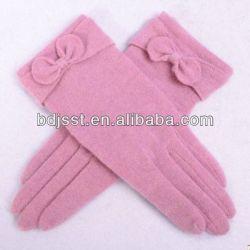 アジアの2013熱いSale Elegant Ladies Hand Knitted Woolen Gloves