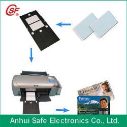 Scheda diretta del PVC del getto di inchiostro (stampabile da L800, da T50, da T60, da P50)
