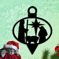 Montagem em parede presente de Natal Decoração de Natal de arte na parede de metal/Ornament