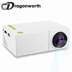 2019 Best Selling Yg310 400lm Portable Mini Projector LED Home Theater com Controlador Remoto