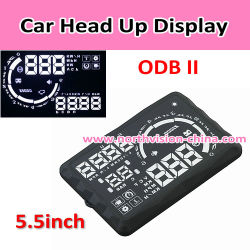 Hud Head su Display OBD II Car Speed Monitor