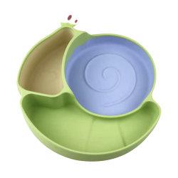 Kit per la nutrizione Divided Kids senza BPA per alimenti silicone per bambini Piastra di aspirazione prodotti per la vendita a caldo
