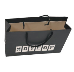 Lamellierte Paper Einkaufstasche für Clothing
