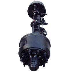 Água peptonada tamponada com câmara de freio da caixa do eixo