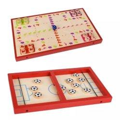 1つの速い吊り鎖のパックのゲームの吊り鎖打撃のゲームのフィートの球の勝者表のホッケーの試合のカタパルトのチェスのおもちゃのパックのボードの困惑の木のおもちゃの2