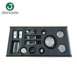 Casa de Banho sem caixilho da porta de vidro roda deslizante/Chuveiro hardware Compartimento com Rodas