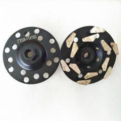 Matériel d'outils d'alimentation Meule boisseau de diamant pour usage industriel