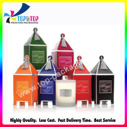 Soem-Fabrik-Preis-Haus-Form-Kerze-verpackengeschenk-Kasten