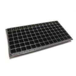 Vassoio per cuciti in plastica per animali domestici da 98 celle, vassoio per vivai, vassoio per piante per serra