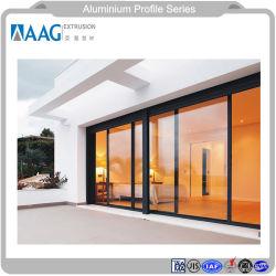 Tubo de alumínio de acabamento do moinho do perfil de alumínio de peças para a porta e janela de alumínio e a parede lateral