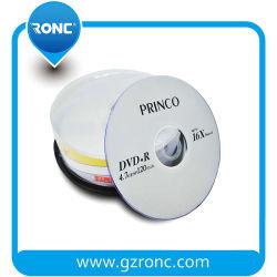 大きさの昇進のPrinco印刷できるDVD-RW 4.7GB 16Xのディスク