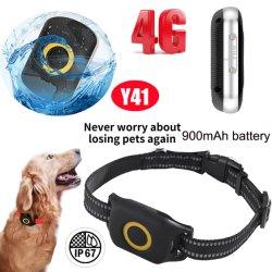 4G/lte étanche localisateur GPS Pet Tracker avec 10jours le temps de travail Y41