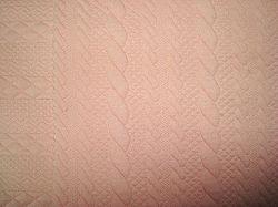 De lucht-Rij van de jacquard de Breiende TextielStof van het Huis van de Matras