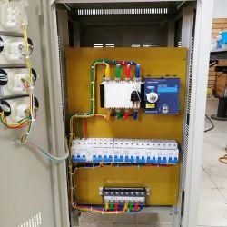 Ingresso di potenza stabilizzato CA automatico ad alta precisione trifase AVR 277 V-433 V. Uscita 380 V stabilizzatore TNS-15kVA