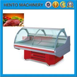 Горячие продажи коммерческих мясо дисплей холодильник