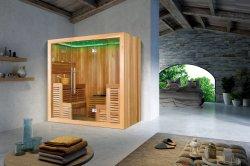 Europäische Luxuxart-gute Qualität verlieren Gewicht-trockene Sauna (M-6043)