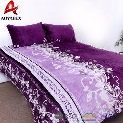 تم تصميم سرير كينغ فلوانيل من قماش Fleece لتصنيع الصين