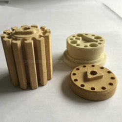 Vidros resistentes ao calor de alta temperatura Cordierite cerâmica para aquecedor de Bilros