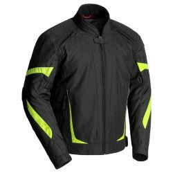 Resistente al agua textil carreras de moto chaqueta de Cordura