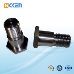 CNC feito sob encomenda da alta demanda que faz à máquina o parafuso Titanium Hexangular