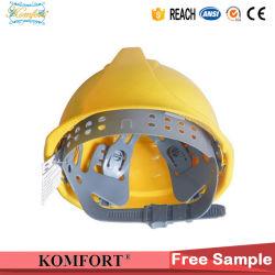 노란색 PE 산업 작업 헬멧(JMC-323H)