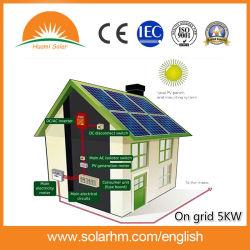5K-Watt Solar Power On-Grid-systeem