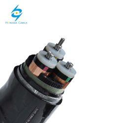 Les projets électriques ont employé le câble blindé de système mv du conducteur 11kv en aluminium