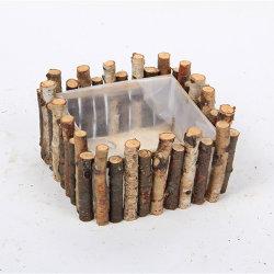 Enfeites de Natal Romântico dons de madeira madeira presentes para o seu