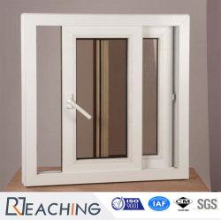 Perfil de la marca concha marco blanco Home Windows PVC / ventanas deslizantes de UPVC