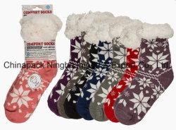 Meias de algodão meias de lã meias meias Legging de piso