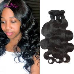 10A Virgin волосы тела человеческого волоса соткать связки оптовой 100 природных бразильского Сен Реми волос человека