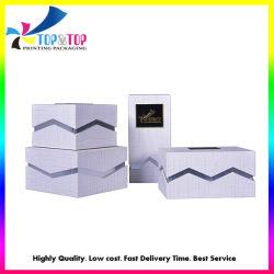 Ensemble de soins de la peau de gros Personnalisé Papier de cadeau Case Beauté Boîte d'emballage