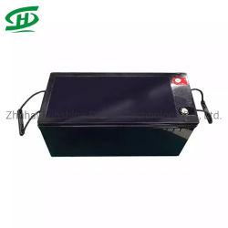 Van hoge Prestaties de Ionen12V 200ah Batterij LiFePO4 van het Lithium met Bluetooth voor de Boot van de Rolstoel van het Zonnestelsel van het Huis