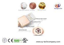 Нейлоновые экранирующая оплетка Micro USB-кабель для зарядки с Android телефон