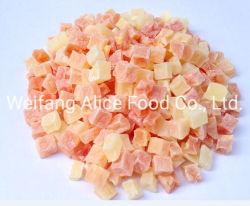Großhandelsnahrungsmittelbestandteil-tropische Frucht trocknete Papaya-Formen getrocknete Papaya