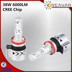 مصابيح LED عالية الجودة لشريحة CREE إضاءة سيارة للسيارة